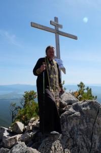 Крест на вершине Святого Носа